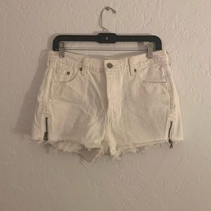 Levi's 501 Altered Zip Shorts
